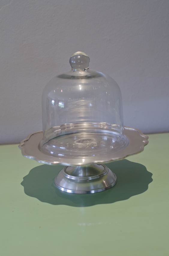 Mini Cake Stand With Dome